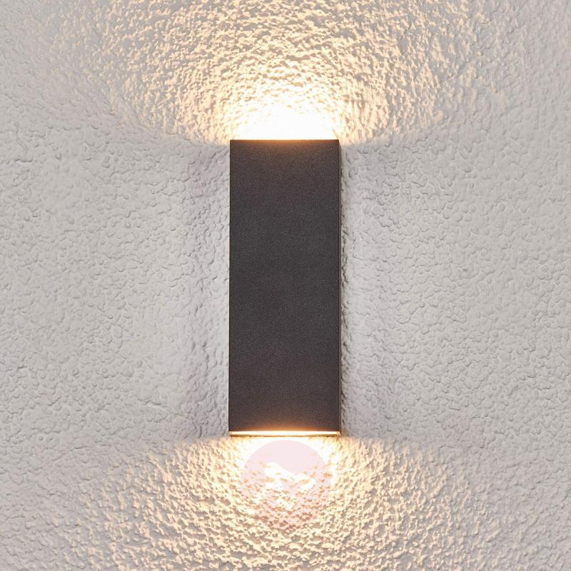 Flat LED outdoor wall lamp Corda - outdoor-led-lights