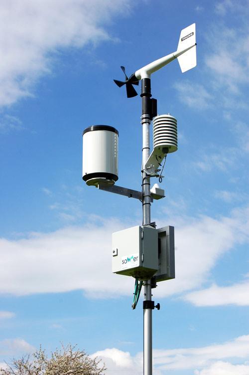 Automatische, portable Wetterstation (AWS)