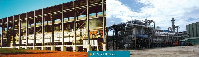 Sugar diffusion with De Smet Diffuser - null