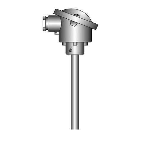 OPTITEMP TCA-P60 - Sensor de temperatura de termopar / de brida / a prueba de abrasión