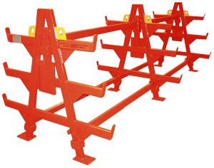Rack à aciers filants - Racks de manutention pour les chantiers