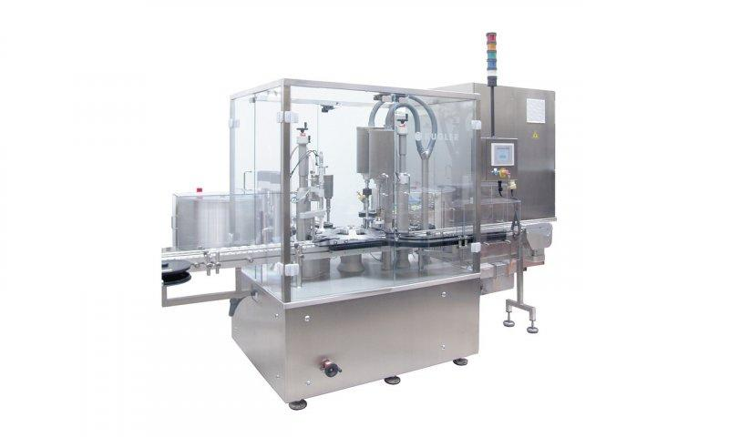 Filling and Closing Machine OPTIMA Flexofill - Filling and Closing Machine OPTIMA Flexofill: Liquid products