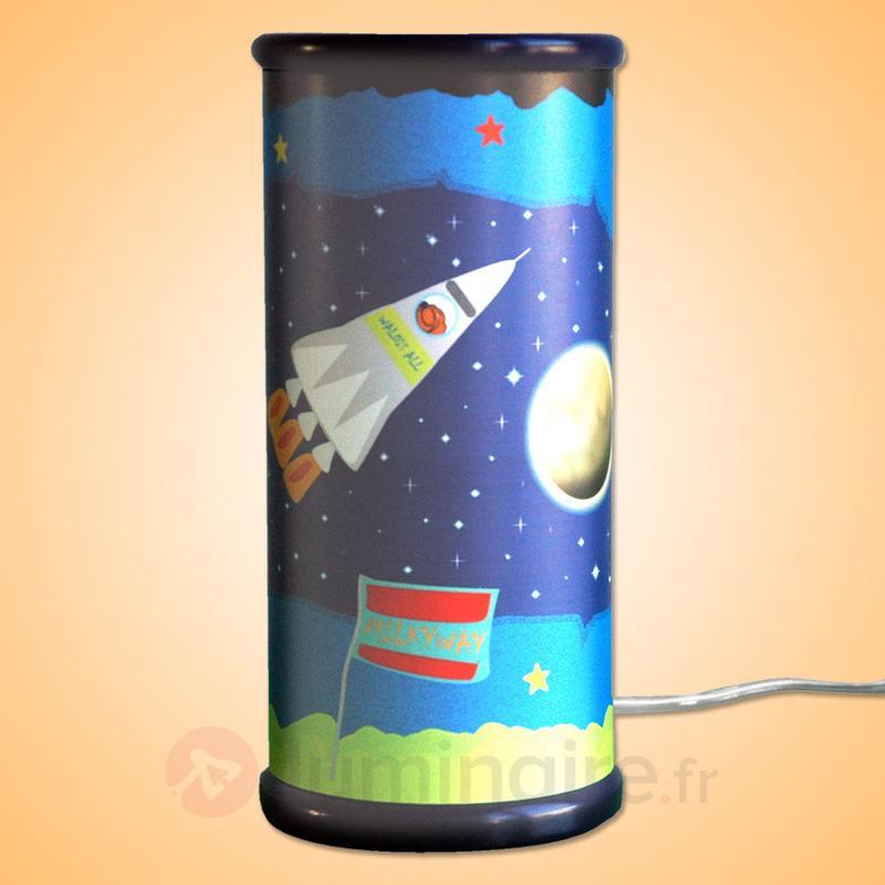 Lampe à poser LED UNIVERS fantaisiste - Chambre d'enfant