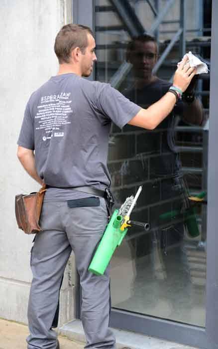 Société de nettoyage bâtiments privés