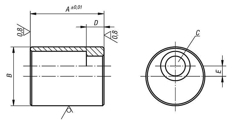 Appui Excentrique - Supports à bille oscillante Pieds Cales Vérins support