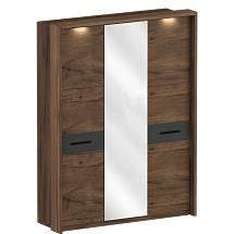 "Three-Door Wardrobe With A Frame For The ""Glasgow"" Bedroom - Bedroom furniture"