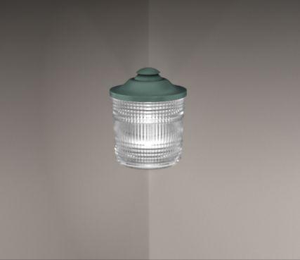 Outdoor wall corner lights - Model 1077 Angle PM