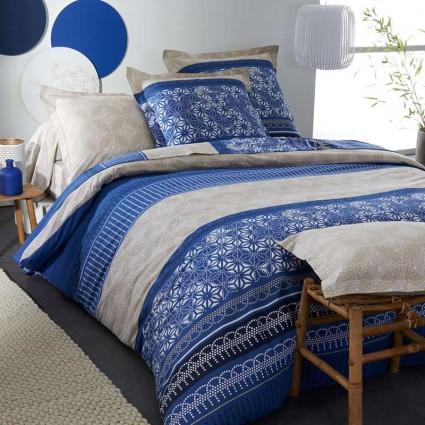 linge de lit draps taies al ses linge de lit imprim coton lamy france. Black Bedroom Furniture Sets. Home Design Ideas