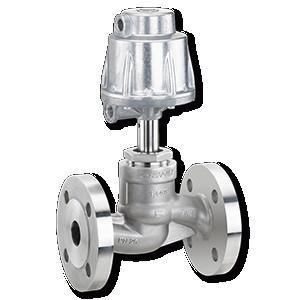 GEMÜ 532 - Válvula de globo de accionamiento neumático