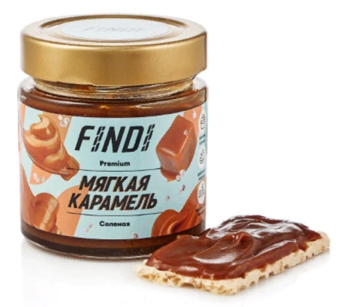 Soft caramel ORGANIC MILK 200g - FINDI