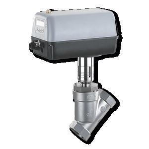 GEMÜ 548 - Motorized angle seat globe valve
