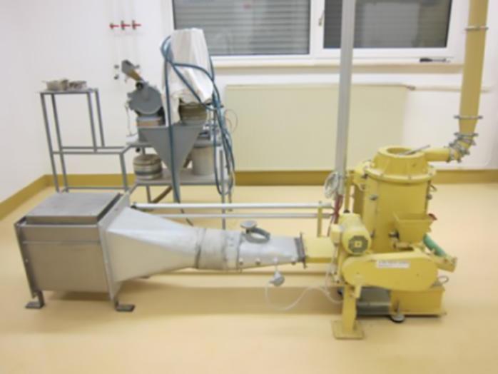 Mahltrocknungsanlage TurboRotor (G-35) - Mahlanlage TurboRotor des Bautyps G-35