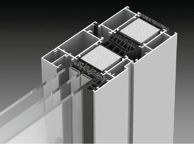 Fenêtres en Alu | MB-86 (Portes en Alu Aluprof) -