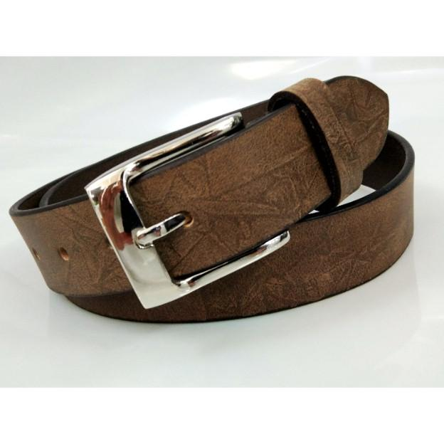 Leather belt for men - genuine leather belt for men