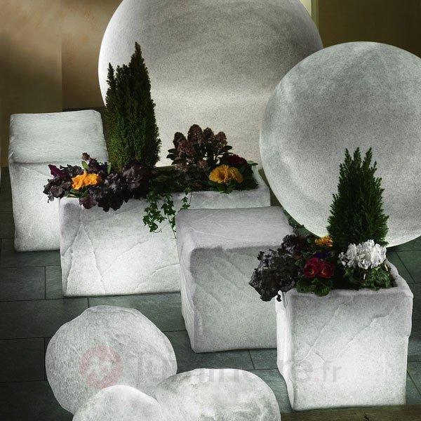 Fixations au sol 1 paire - Lampes décoratives d'extérieur