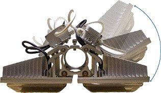 Уличный светодиодный светильник Зарница F 120-240 M - Уличный светодиодный светильник мощностью 120-240 Вт