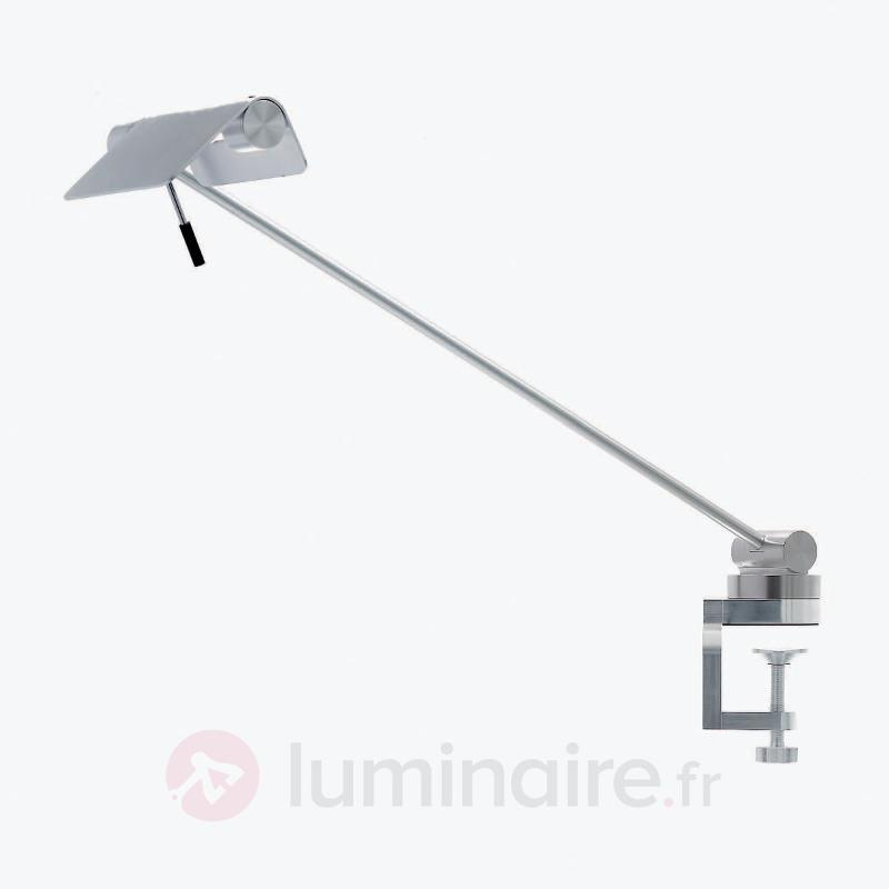 Lampe à poser Attik pince de fixation aluminium - Lampes à pince