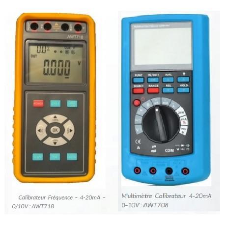 Calibrateurs - Générateurs - Récepteurs signaux - Afficheurs & Calibrateurs