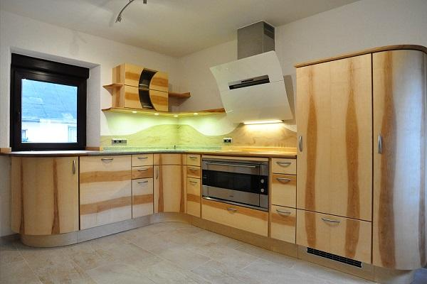 Runde küche l form