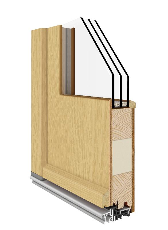 Solid Entrance Door (Wooden 68|78|92)