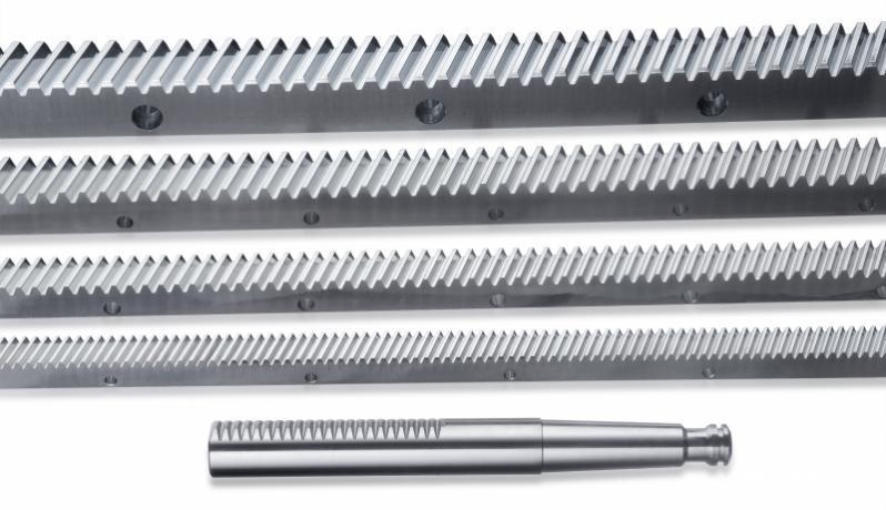 Tooth racks - according to customer drawings and demand, catalogue standard tooth racks
