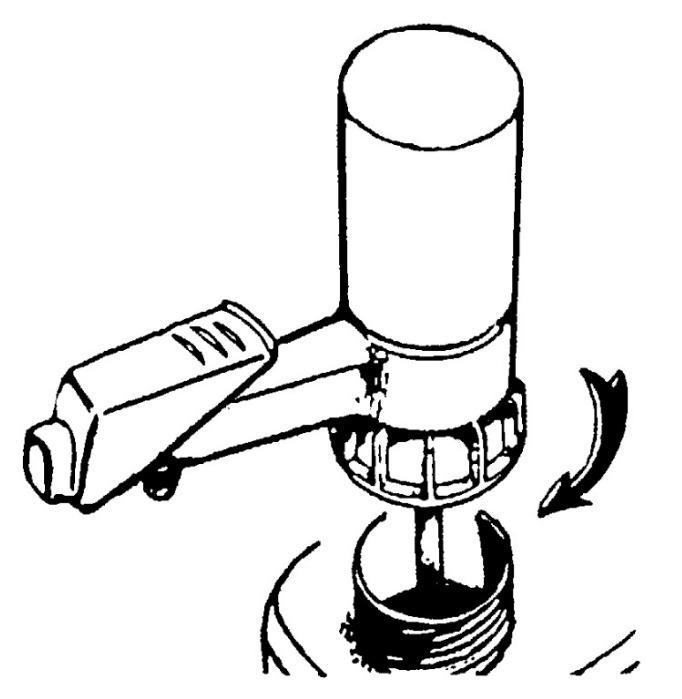 Bomba para recipiente Pump-it® - Bomba manual, dosificación exacta, sin goteo, para ácidos débiles