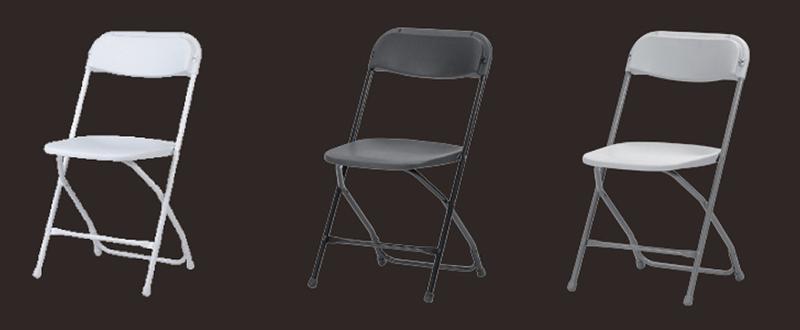 Chaise pliante empilable - Mobiliers pliants haut de gamme