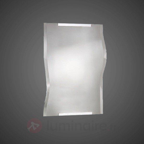 Plafonnier en verre Aquattro 30 cm - Appliques en verre