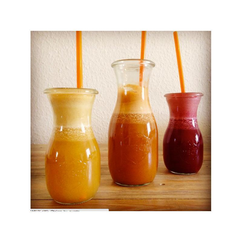 6 botellas WECK Flacon® 540 ml  - con tapas en vidrio y gomas (clips no incluidos)