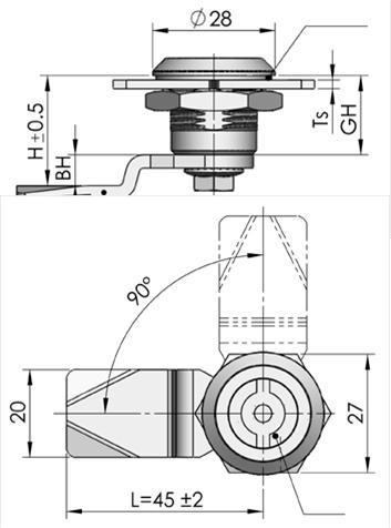 Cylinder Locks -