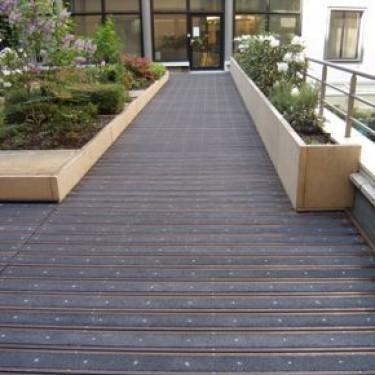Antidérapant en fibre de verre pour terrasse en bois - Lames Super Agrippantes Maxi