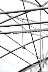 Cremallera Recta - Cremallera Recta en acero galvanizado para sistemas de ventilación motorizados