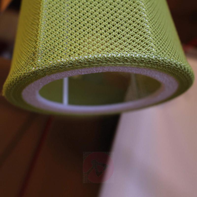 Elegant LED hanging light Felice, 40 cm, green - indoor-lighting