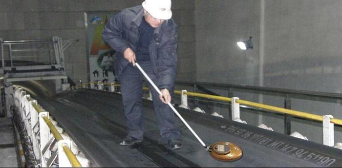 Steel Cord Conveyor Belt Position Detector