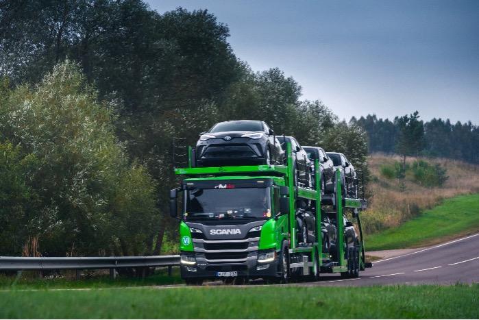 Transport véhicules  -