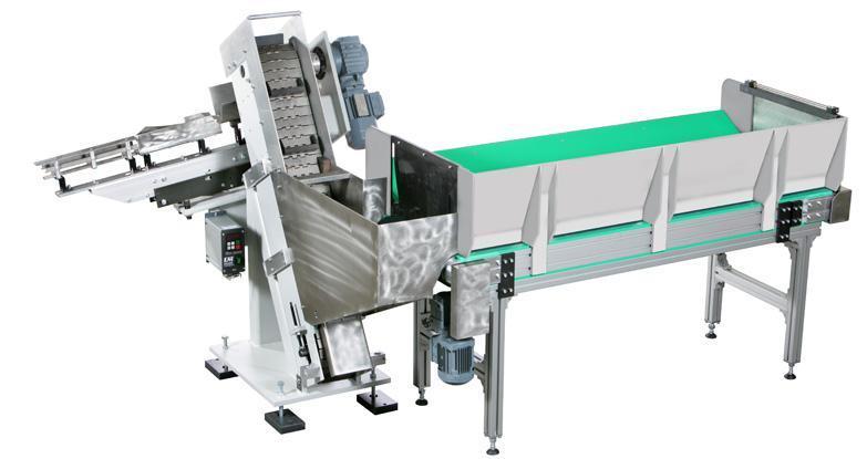 Feeding systems - step conveyors