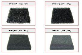 Filtres mousse - Polyurethane