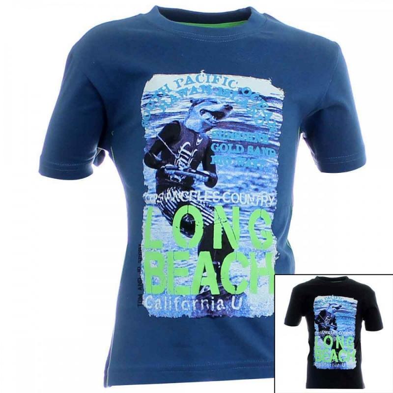 14x T-shirts manches courtes Tom Jo du 3 au 14 ans - T-shirt et polo manches courtes