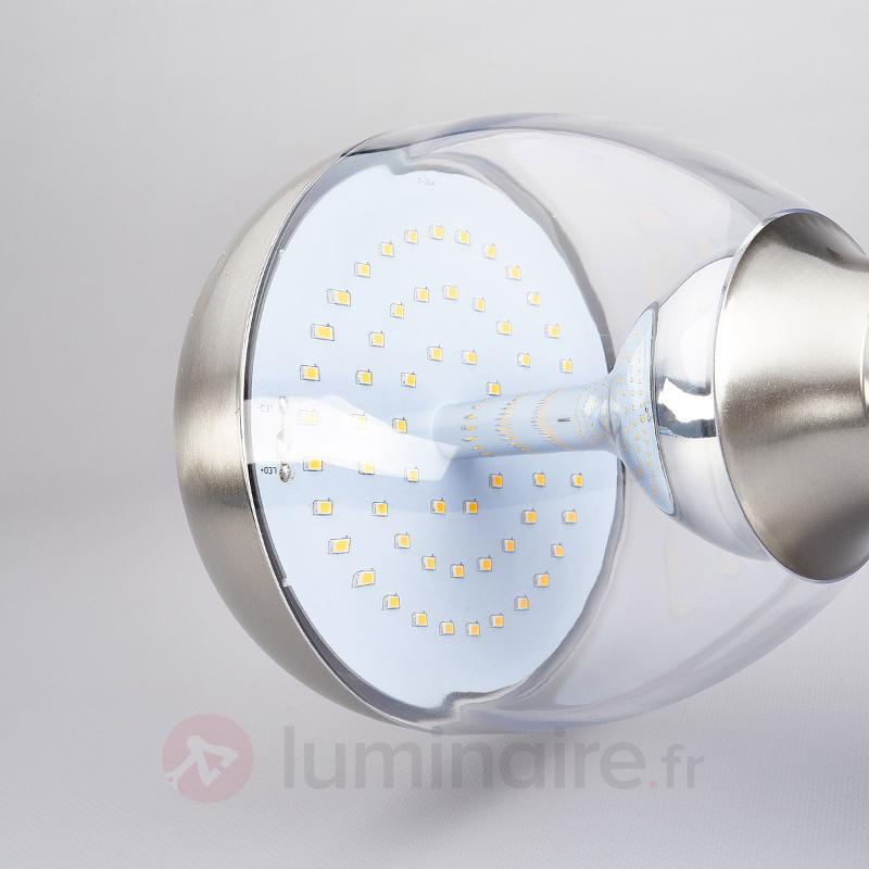 Applique d'extérieur LED Ettan en inox à détecteur - Appliques d'extérieur avec détecteur
