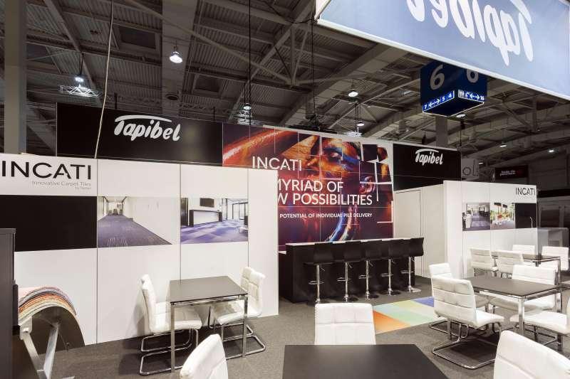 Tapibel - Project - Salon : Domotex