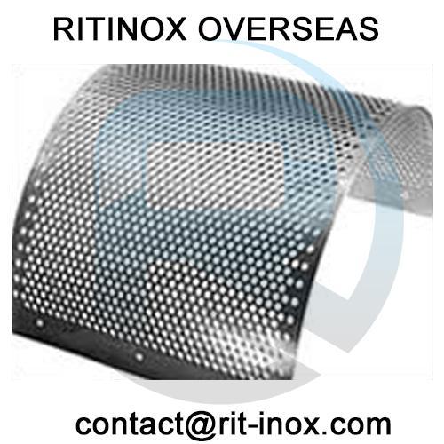 Titanium Gr 2 Perforated Coil -