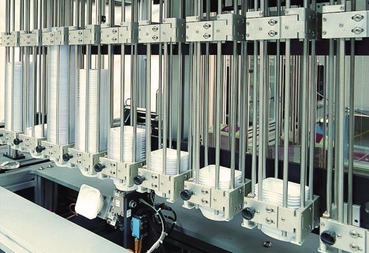 Automatic Packaging Unit for Semi-Finished Lenses - Semi-finished Packaging