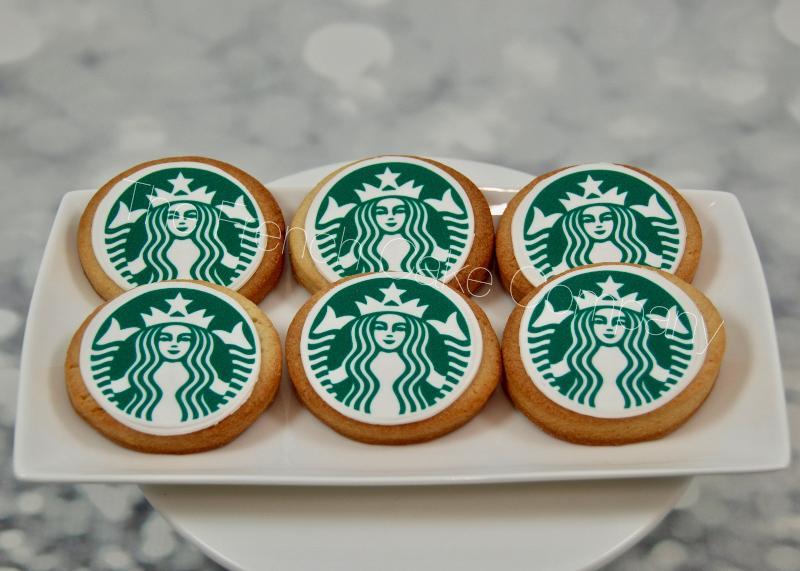 Gâteaux et Pièces Montées sur-mesure - Cookies Starbuck