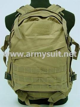 3 Day Molle Assault Backpack Bag Coyote Brown - PNS-BP07