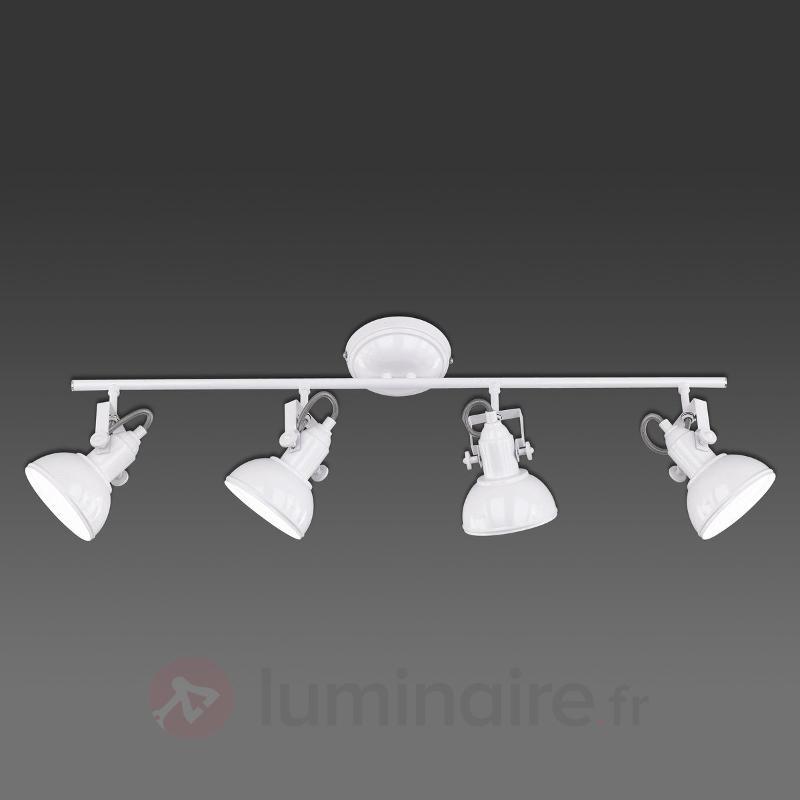 Gina - plafonnier à 4 lampes, design industriel - Tous les plafonniers