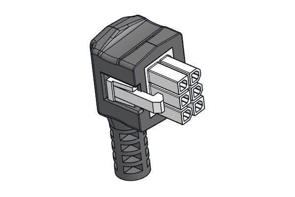 Connettore per attuatori – valvole deviatrici Honeywell -