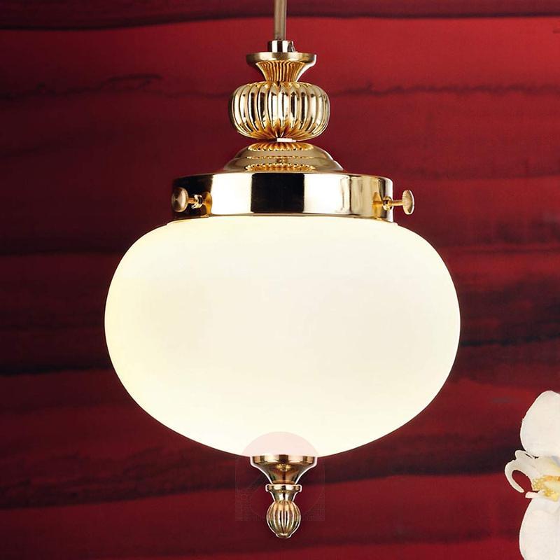 1-bulb Ophelia glass pendant light - design-hotel-lighting