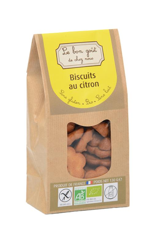 Biscuits au citron - Épicerie sucrée
