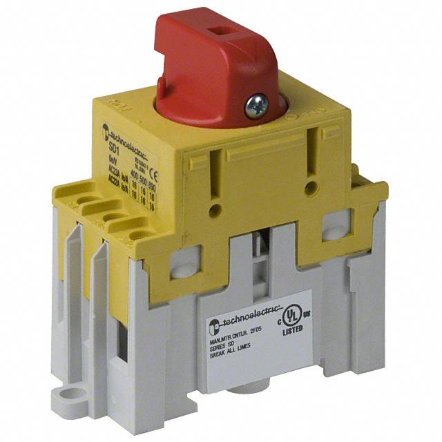 SWITCH DISCONNECT 16A 600V RED - American Electrical Inc. 19210-11