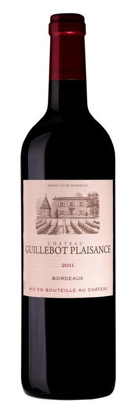 Bordeaux Rouge wine AOC - Château Guillebot Plaisance